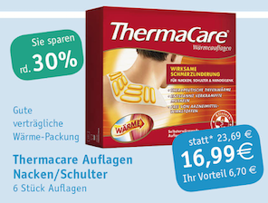 Thermacare Nacken/Schulter