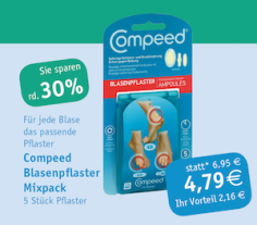Compeed Blasenpflaster-Mix